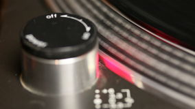 Spinning turntable stock footage