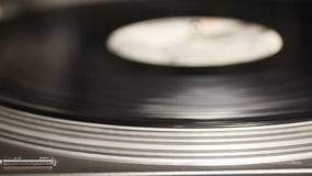 Spinning turntable stock video footage