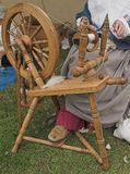 Spinning Wheel. Old English Spinning Wheel Stock Image