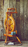Spinning wheel. Royalty Free Stock Photo
