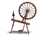 Spinning wheel Royalty Free Stock Photos