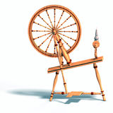 Spinning wheel Stock Photography