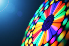 Spinning wheel blur. Colorful spinning wheel, motion blur background Stock Photos