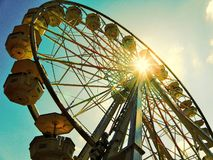 Spinning wheel in Constanta, Romania Royalty Free Stock Photography