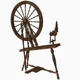 Spinning Wheel Dark Royalty Free Stock Photography