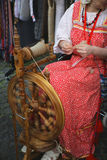 Spinning the wheel Stock Photos