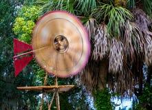 Spinning Windmill Stock Photos
