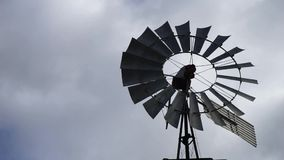 Spinning Windmill stock video