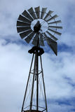 Spinning Windmill Stock Photography