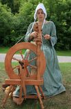 Spinning Wool Royalty Free Stock Images