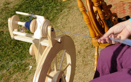 Spinning Yarn 3 Stock Image