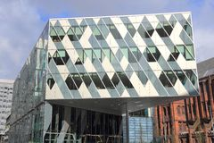 Spinningfields, Manchester Royalty Free Stock Images