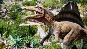 Spinosaurus的现实模型 免版税库存照片