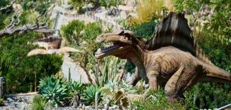 Spinosaurus的现实模型 库存照片