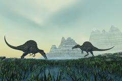 Spinosaurus Stock Photography