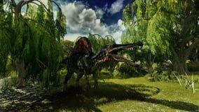 Spinosaurus Fotografia de Stock Royalty Free