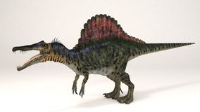 Spinosaurus-dinosaurie royaltyfria foton