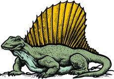 Spinosaurus dinousaur Fotografia Royalty Free
