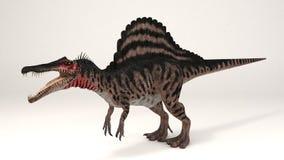 Spinosaurus II Color-Dinosaur Stock Photography