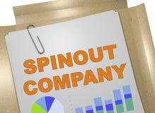 Spinout Företag begrepp vektor illustrationer