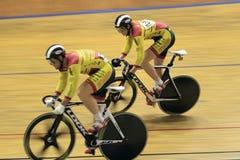 Spinters in Mallorca4U omnium race Stock Photography