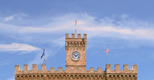 Spinucci Castle in Chieti (Italy). Detail of Spinucci Castle in Chieti (Italy Stock Photography