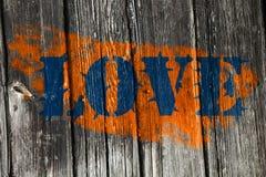 Spiny love orange Royalty Free Stock Image