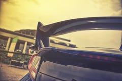 spioler dell'automobile sportiva Immagine Stock
