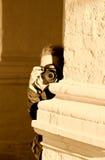 Spion Royalty-vrije Stock Afbeeldingen