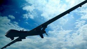 Spion-Flugzeug Lizenzfreies Stockfoto