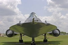 Spion-Flugzeuge der Amsel-SR-71 Stockfotografie