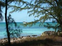 Spionage von Halbmond Cay Stockbild
