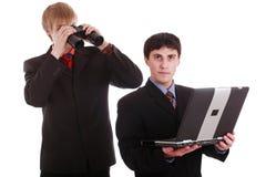Spionaggio Fotografie Stock