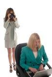 Spionaggio corporativo 1 Fotografia Stock Libera da Diritti