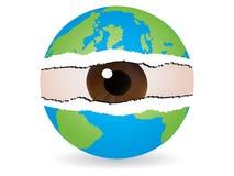 Spionieren Sie die Welt aus Lizenzfreie Stockfotografie