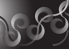 Spiraal backround vector illustratie