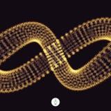 spiraal 3d vectorillustratie Royalty-vrije Stock Fotografie