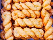 Spiraal donuts Stock Afbeeldingen