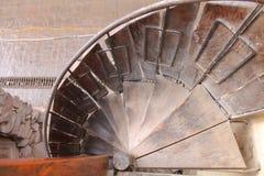 Spiraal in ollantaytambo Royalty-vrije Stock Foto