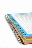 Spiraal sketchbook Stock Afbeeldingen