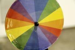 Spiraal van kleuren stock foto's