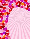 Spiraal van liefde stock illustratie