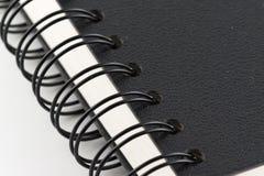 Spiraal van notitieboekje stock afbeelding