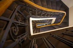 Spiraal van stappen stock afbeeldingen