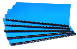 Spiraal - verbindend notaboek Stock Afbeelding