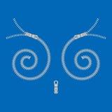 Spiraalvormig bevestigingsmiddel stock illustratie