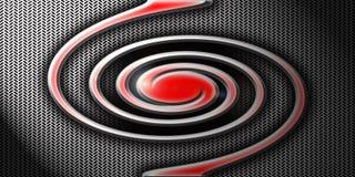 Spiraalvormig embleem Stock Foto's