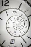 Spiraalvormig horloge Stock Foto