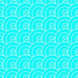 Spiraalvormig Japans patroon Stock Afbeelding