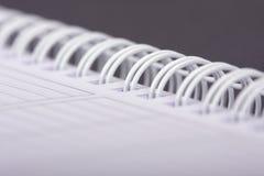 Spiraalvormig notitieboekje Stock Foto